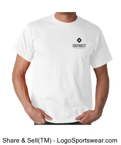 Southwest Church Men's T-shirt - White Design Zoom