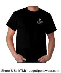 Southwest Church Mens T-shirt - Black Design Zoom